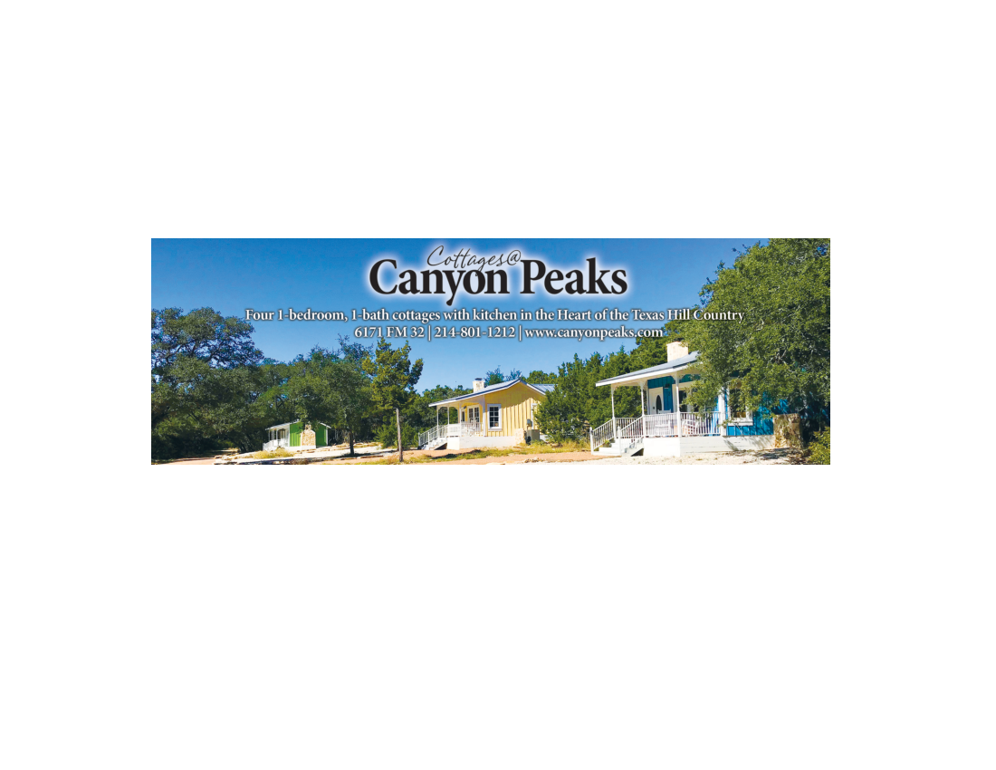 hill peaks premier unit wimberley country canyon cottages at lodging listings