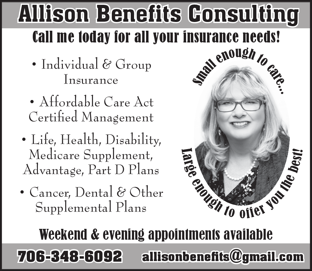 Individual group insurance by allisons benefits consulting in individual group insurance by allisons benefits consulting in cleveland georgia 1betcityfo Image collections