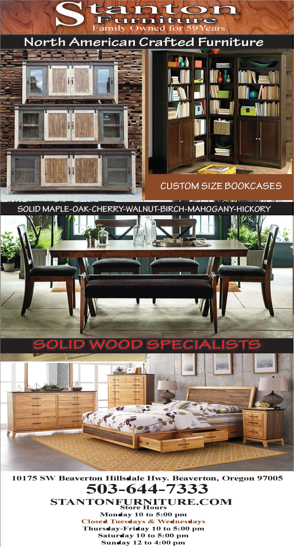 North America Crafted Furniture U0026 Solid Wood Specialists In Beaverton, OR,  Furniture   Stanton Fine Furniture