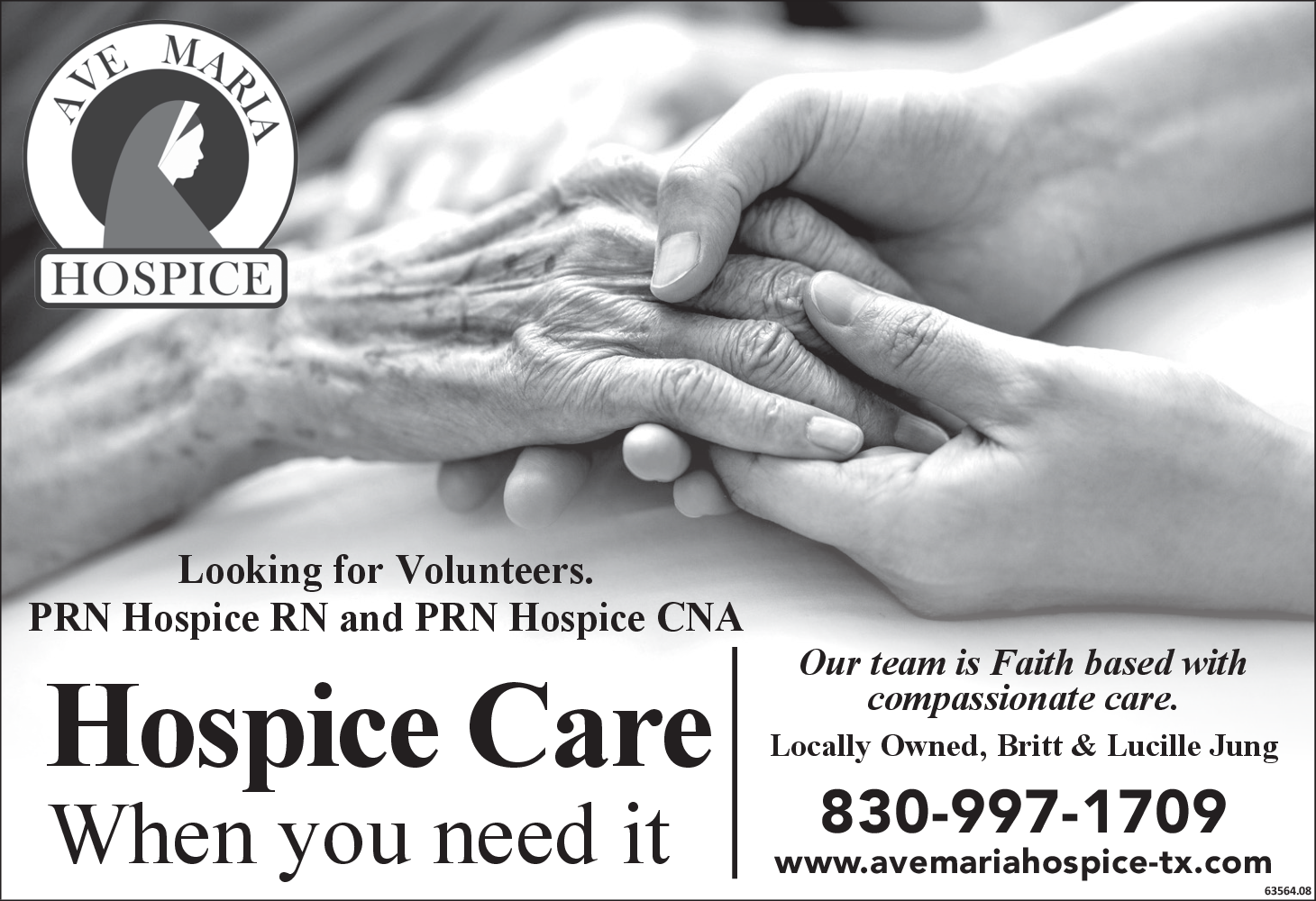 Looking For PRN Hospice RN & PRN Hospice CNA in
