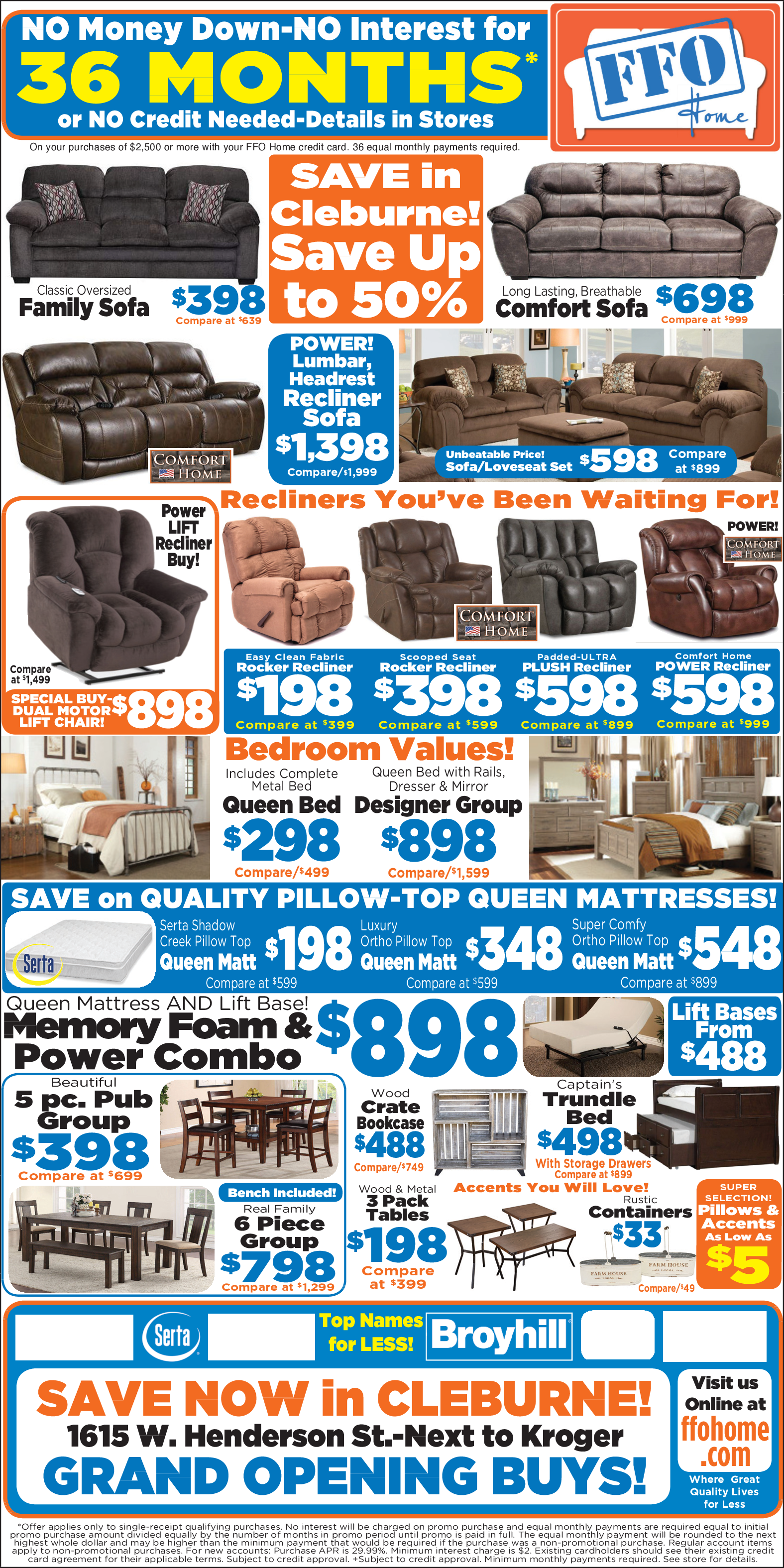 Save Money On Furniture In Cleburne Tx Furniture Ffo Home Furniture
