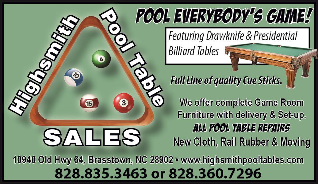 Offer Complete Game Room Furniture In Brasstown NC Sporting Goods - Pool table moving equipment