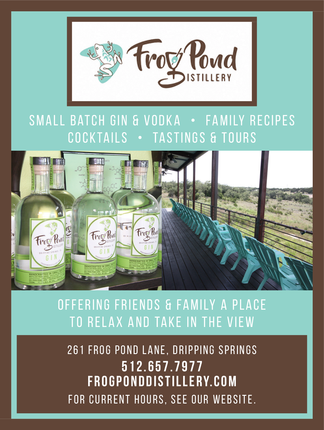 small batch gin and vodka in dripping springs tx wineries