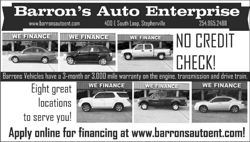 Enterprise Auto Finance >> Auto Finance Services Available In Stephenville Tx Auto