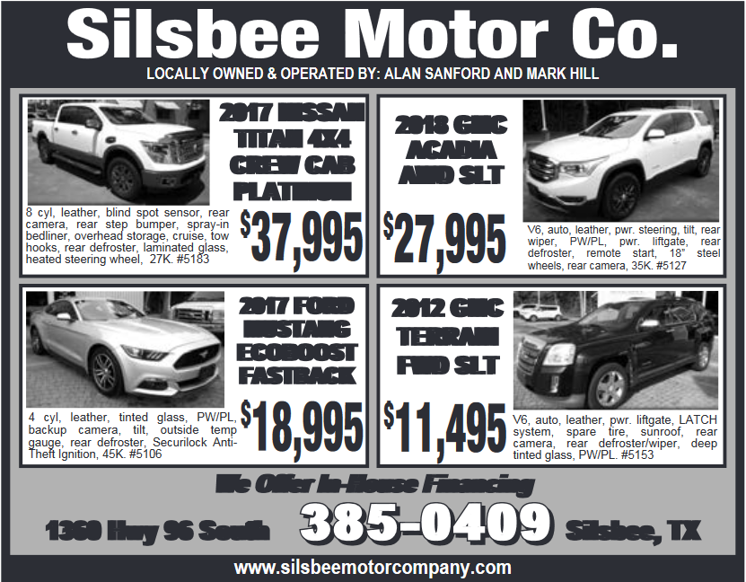 Silsbee Motor Company >> Introducing Latest Car With In House Financing In Silsbee Tx New Cars