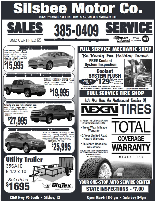 Silsbee Motor Company >> Automotive Repair Center In Silsbee Tx New Cars Silsbee