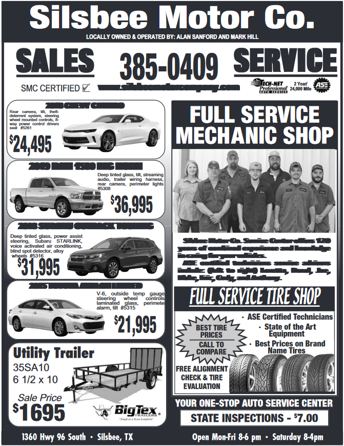 Silsbee Motor Company >> Full Service Tire Shop In Silsbee Tx New Cars Silsbee