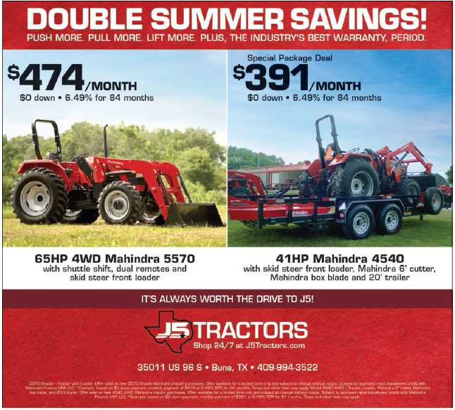 Mahindra Tractors in Buna, TX, Tractor Dealerships