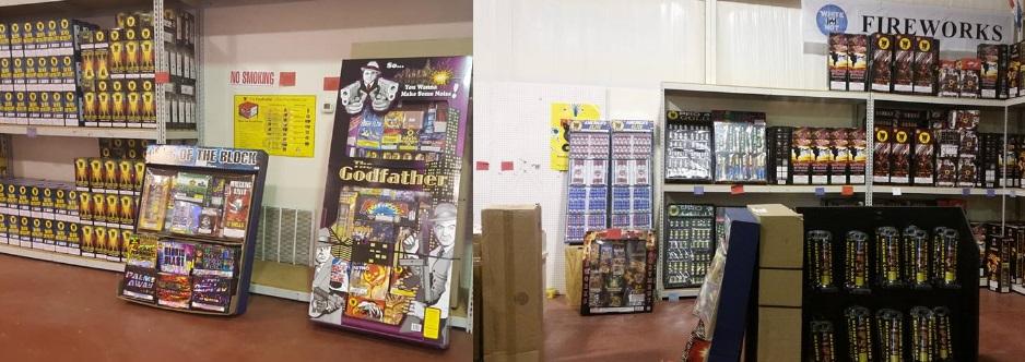 Stateline Fireworks Super Store - , Texas
