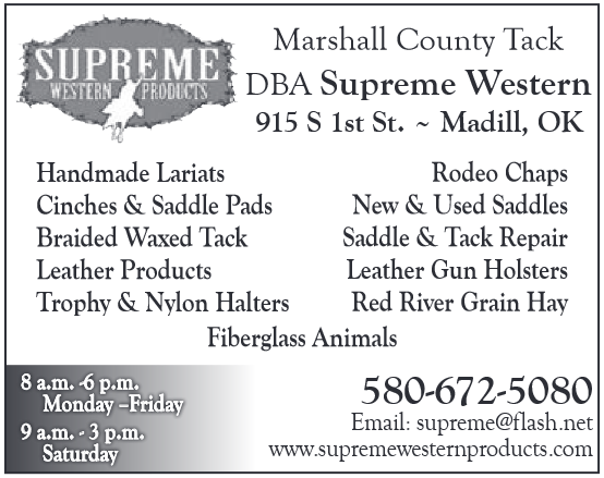 Manufacturer Of Quality Horse Rodeo And Pet Supplies in Madill, OK