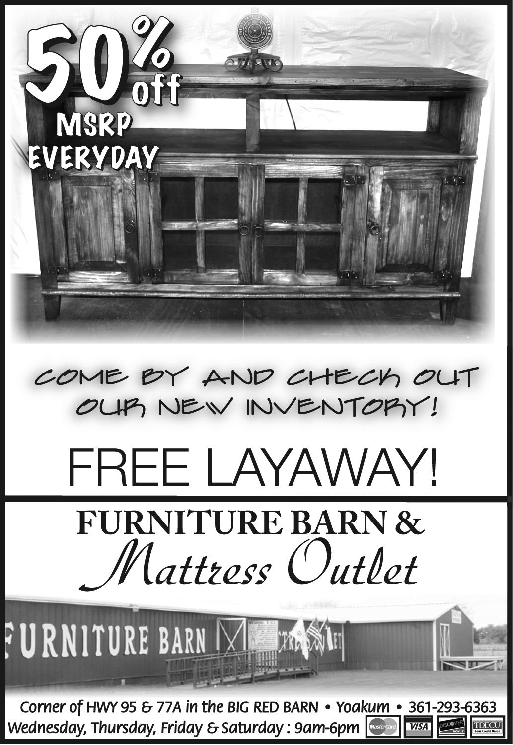 Come And Check New Mattress Inventory In Yoakum, TX, Furniture   Furniture  Barn U0026