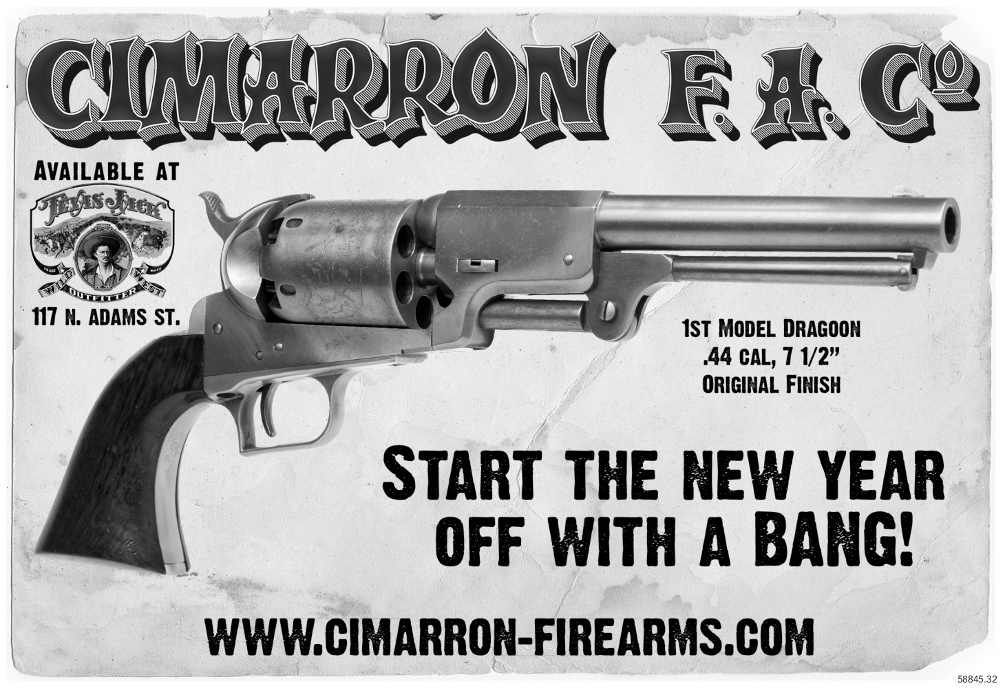 START THE NEW YEAR OFF WITH A BANG by Cimarron Firearms