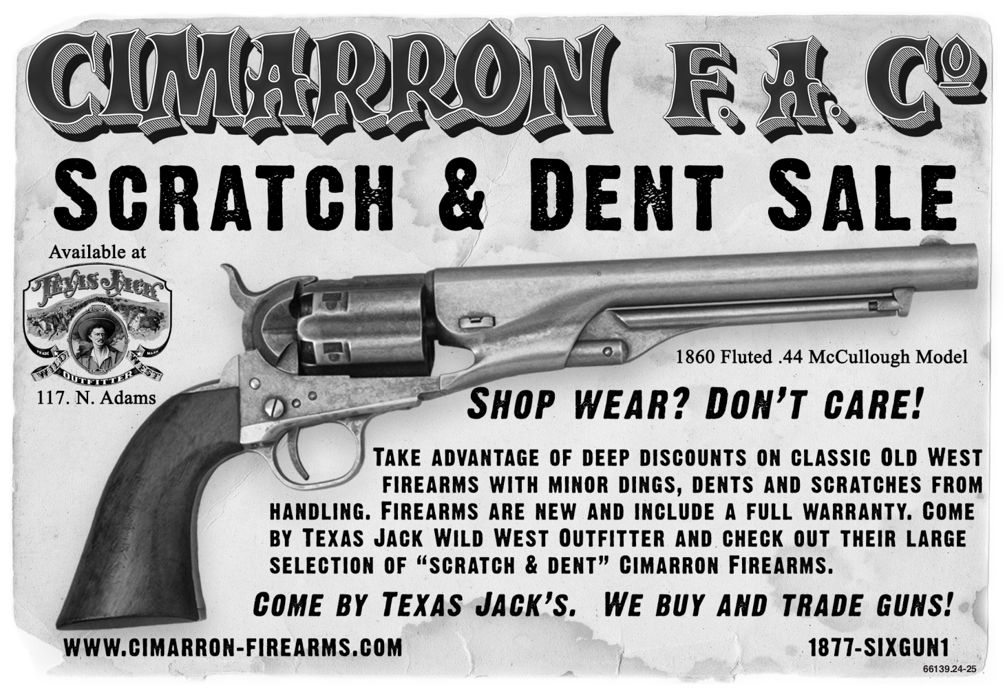 Scratch And Dent Sale in Fredericksburg, TX, Guns