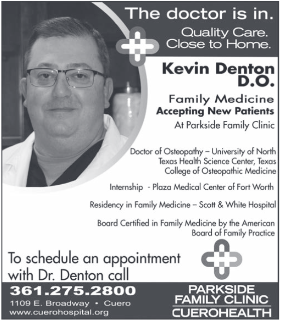 Best Doctor of Osteopathy in Cuero, TX, Medical Care