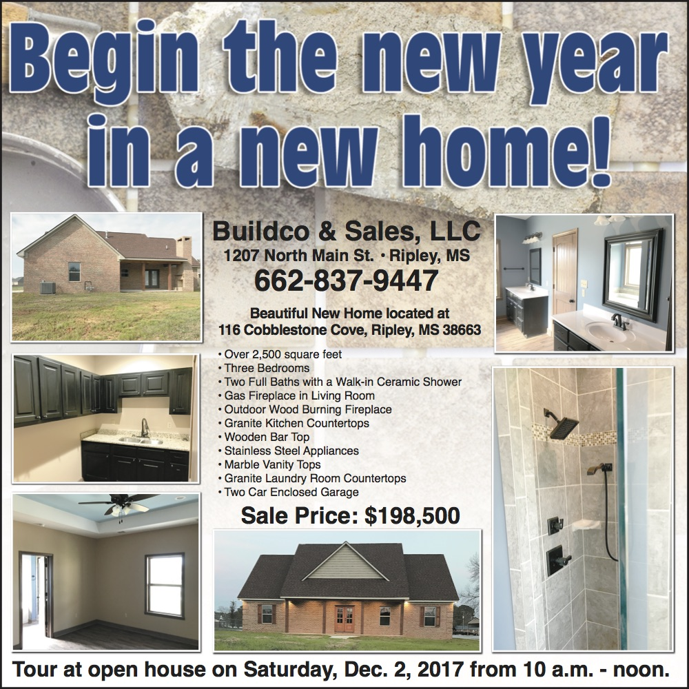 begin the new year in a new home  ripley mississippi  rh   mercolocal com